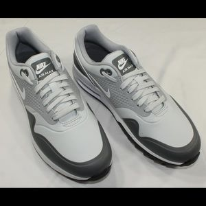 NIKE Air Max 1 Golf Shoes 'Pure Platinum' New